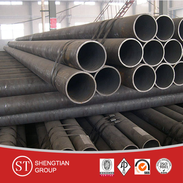 API 5L Grade B Black Carbon Steel Seamless Pipes