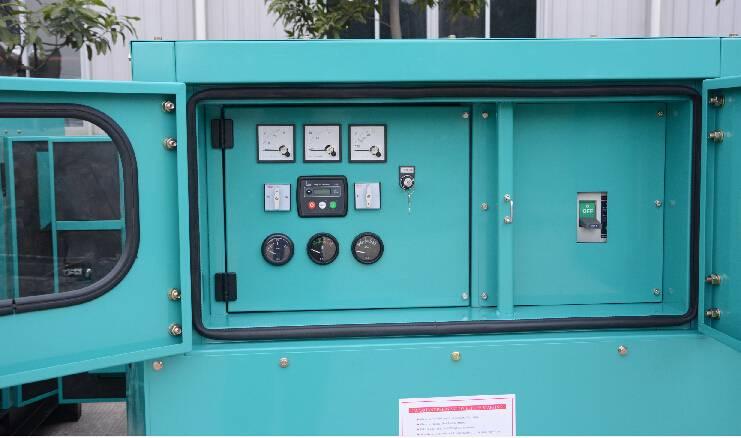 Generation Set Industrial Power Generators Powered By Doosan Diesel Engine Output 500kW