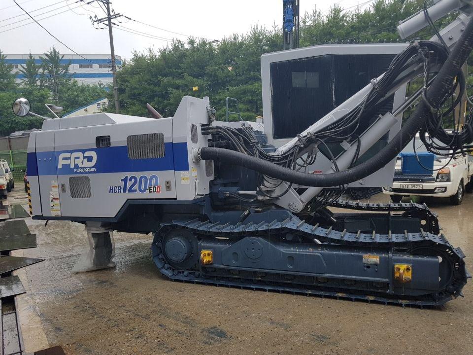 Used crawler drill FURUKAWA HCR1200-EDII