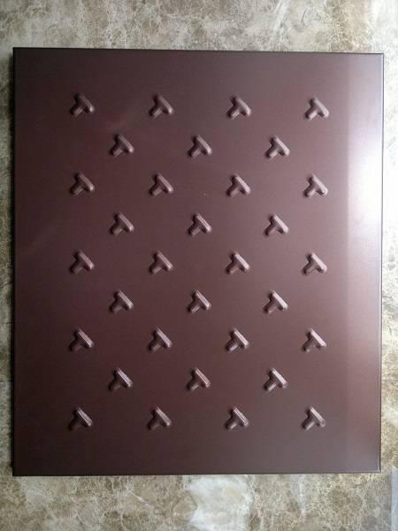 pvdf aluminum panel