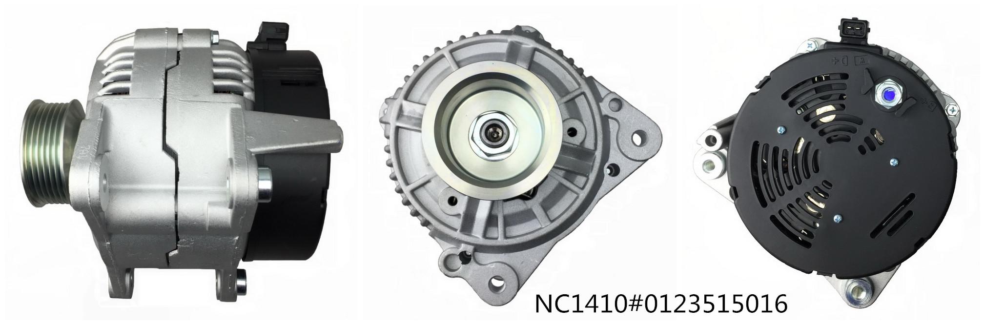 Auto alternator NC1410 (12V 120A, 0123515016)