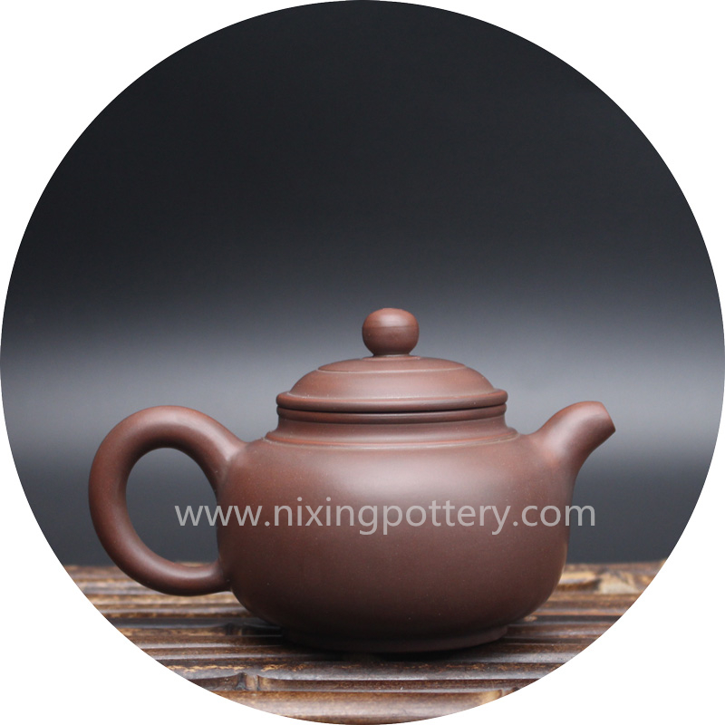 Antique Qinzhou Ceramic Pot Clay Handmade Teapot Kungfu Nixing Pots 180cc
