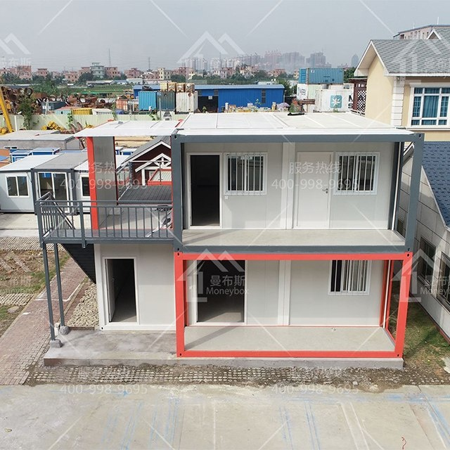 Low Cost modular homes china Units Removable House With Steel Shipping Container Frame