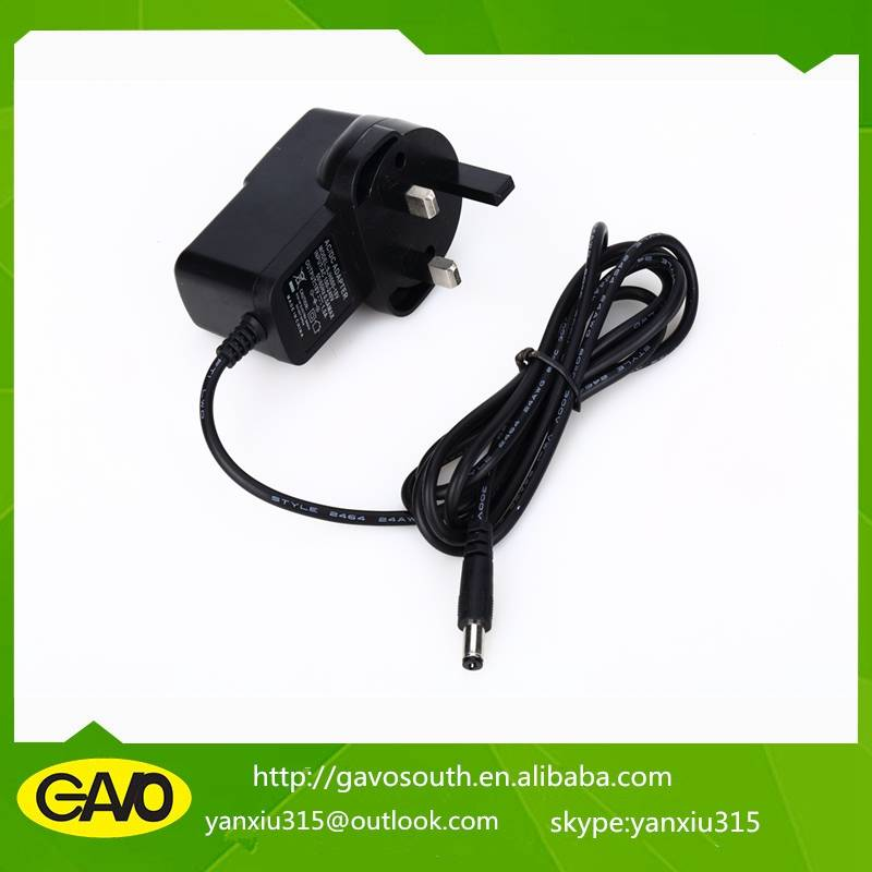 New arrival factory price18v 1a UK electical switching adapter