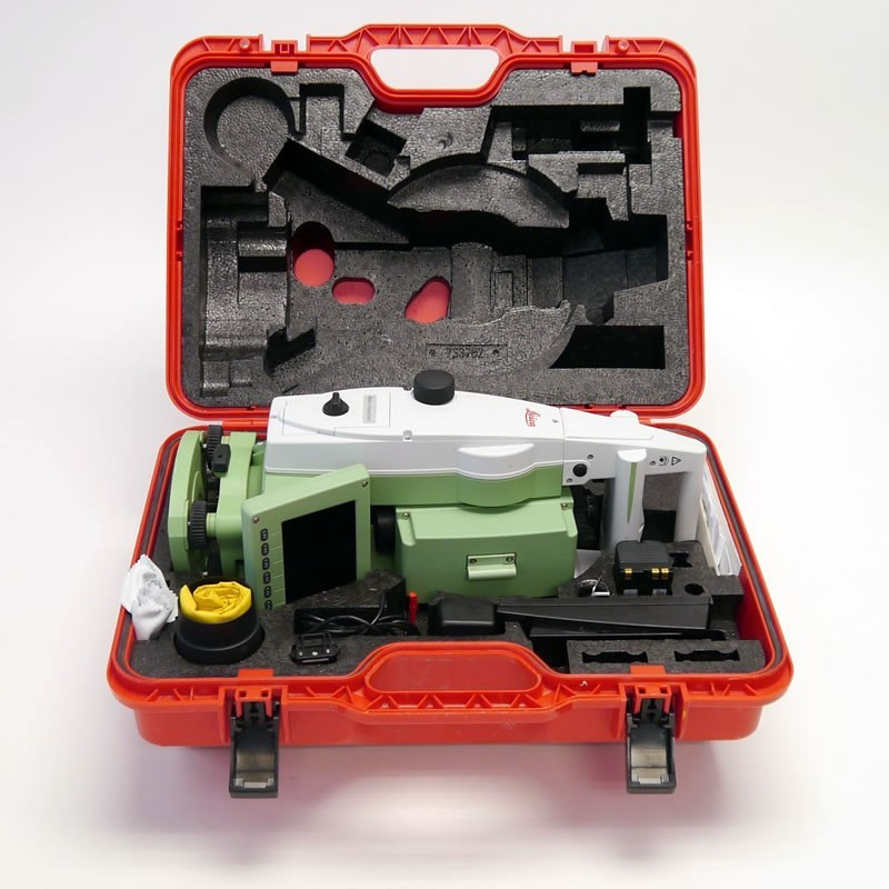 """Used Leica TS12 R400 7"""" Total Station With CS10"""