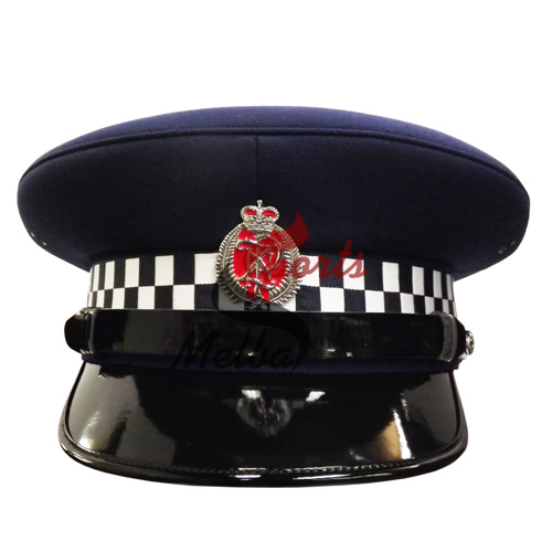 Police Officer Peaked Cap