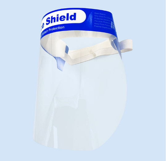 clear PET dental disposable protective face shield