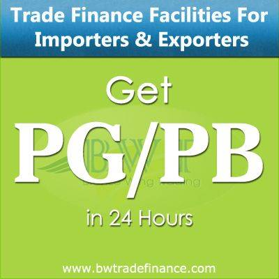 Avail PG/ PB for Importers & Exporters