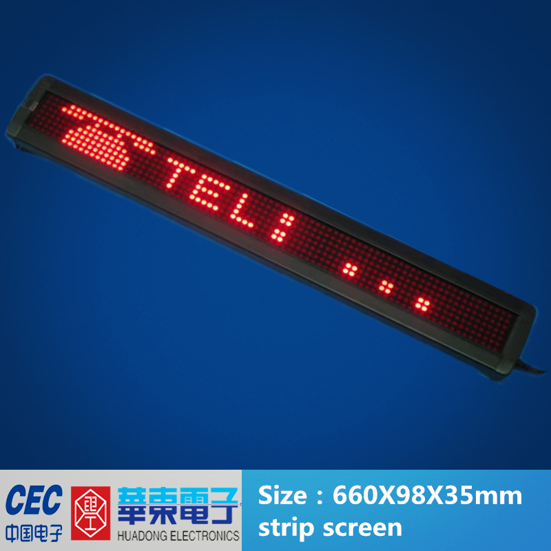 LED Bus Display
