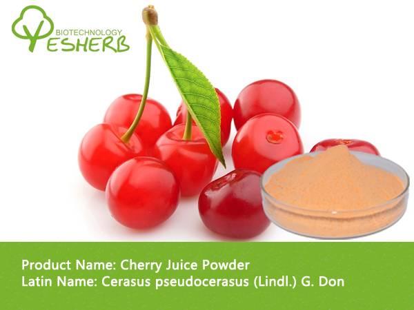 spray dried health food cherry juice powder