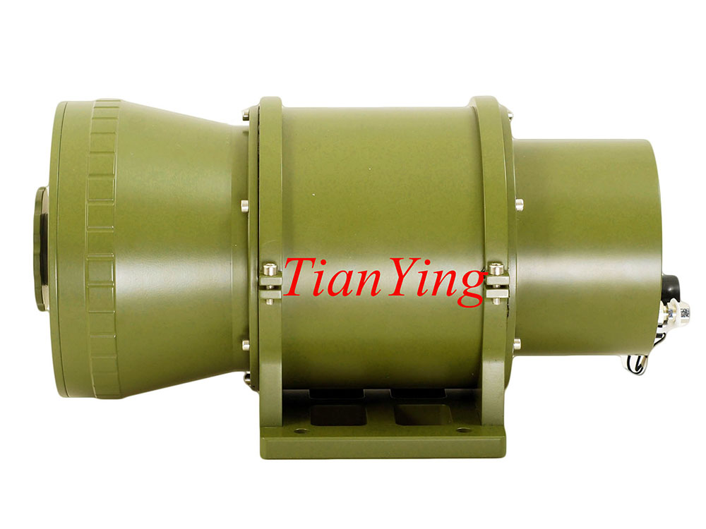 25-250mm zoom 400mK MRTD 2.5km/4km Surveillance Thermal Camera