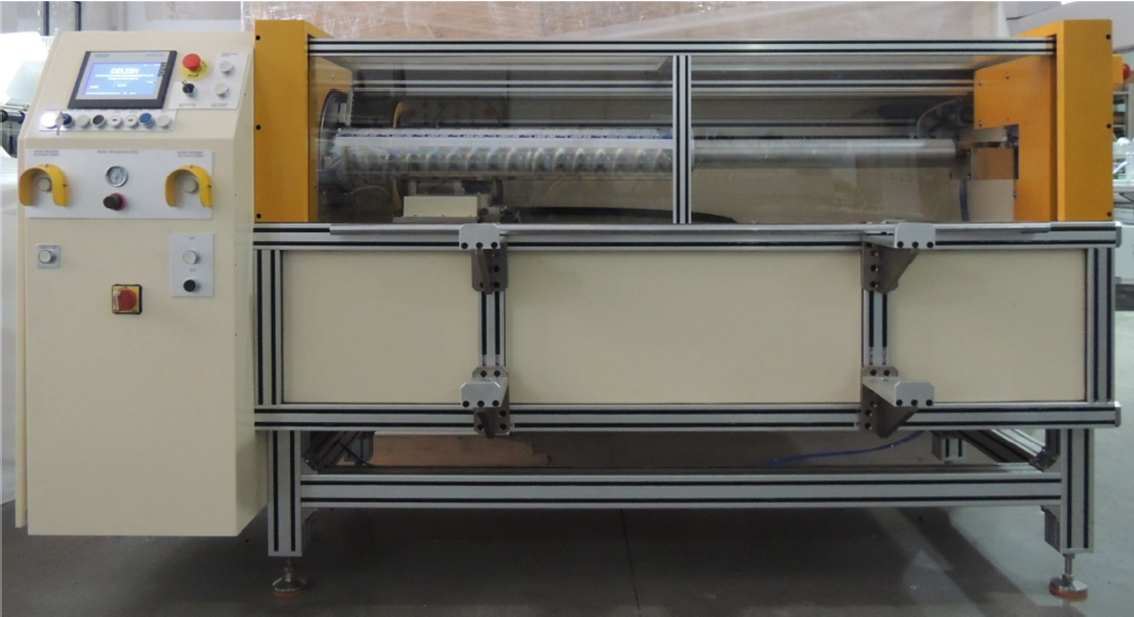 Hot stamping foil roll cutting machine