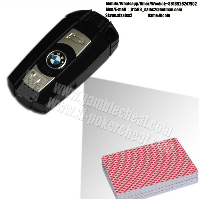BMW Car - Key Camera Poker Cheating Tools To Scan And Analyze Bar Codes Sides Cards
