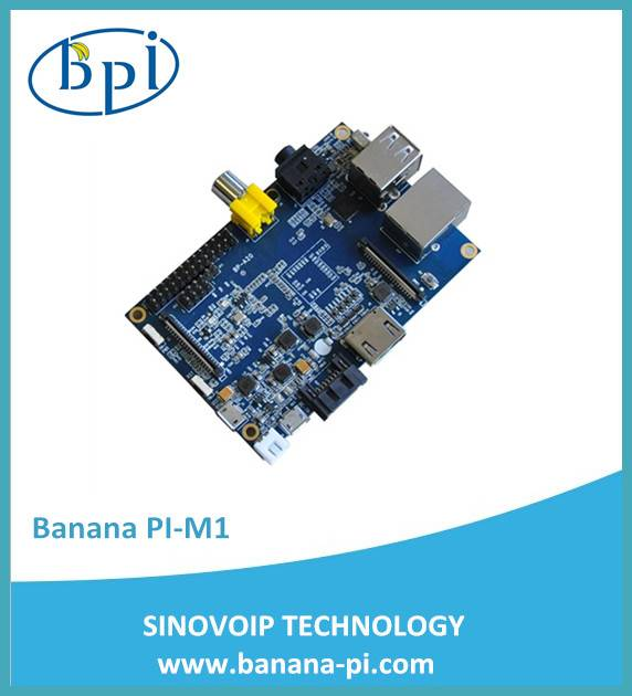 1GB Banana Pi single-board computer compatible with raspberry pi