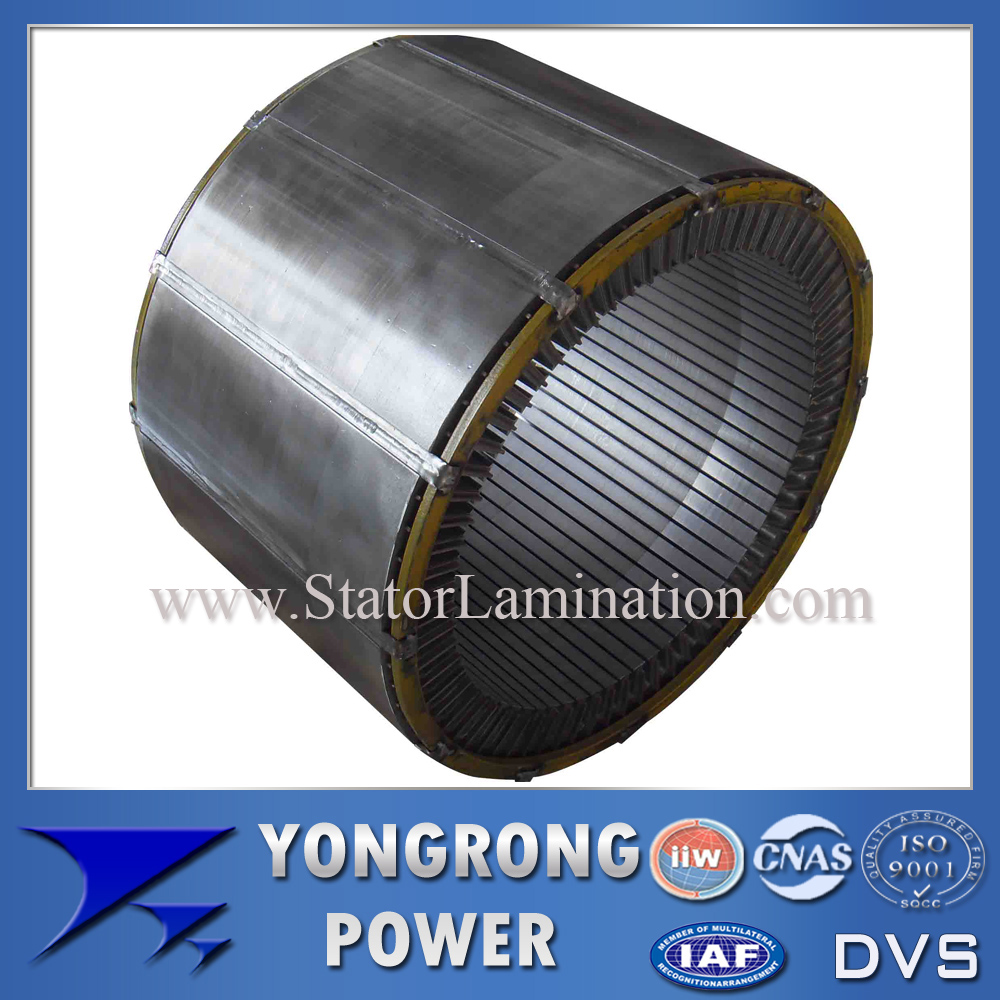IE3 IE4 Preminum Efficiency Electric Motor Stator Silicon Steel Core