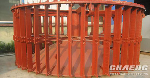 Cement mill cage rotor of separator