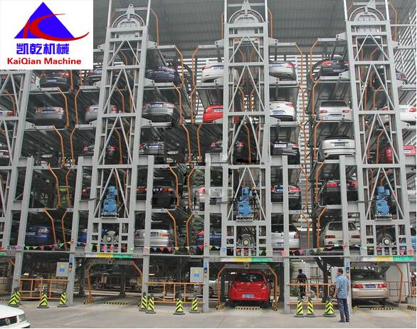 China kaiqian brand Rotary Parking System factory