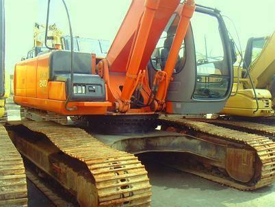 Used Hitachi ZAX240 Excavator