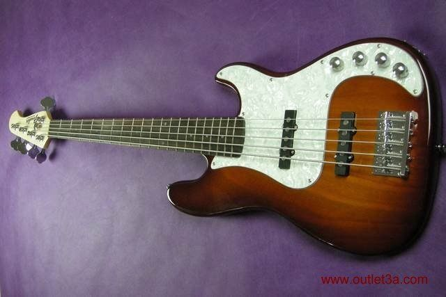 Brown Fender Bass