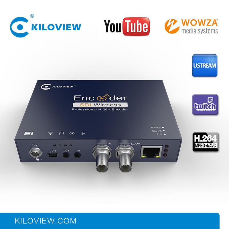 Professional iptv streaming encoder h 264 hd sdi to ip converter encoder hardware