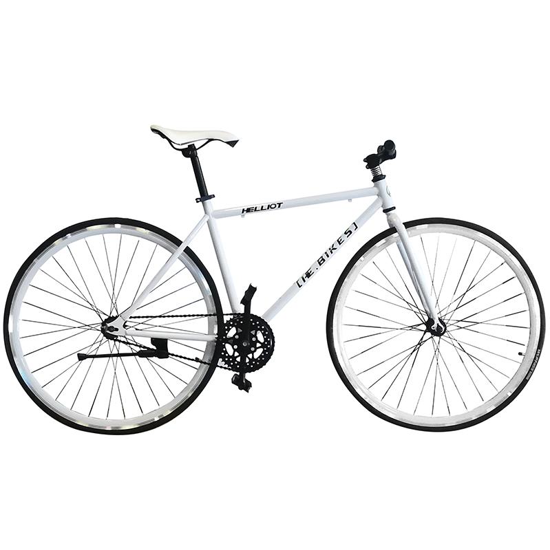 Bicycle fixie single speed fixed gear - Helliot bikes tribeca 17