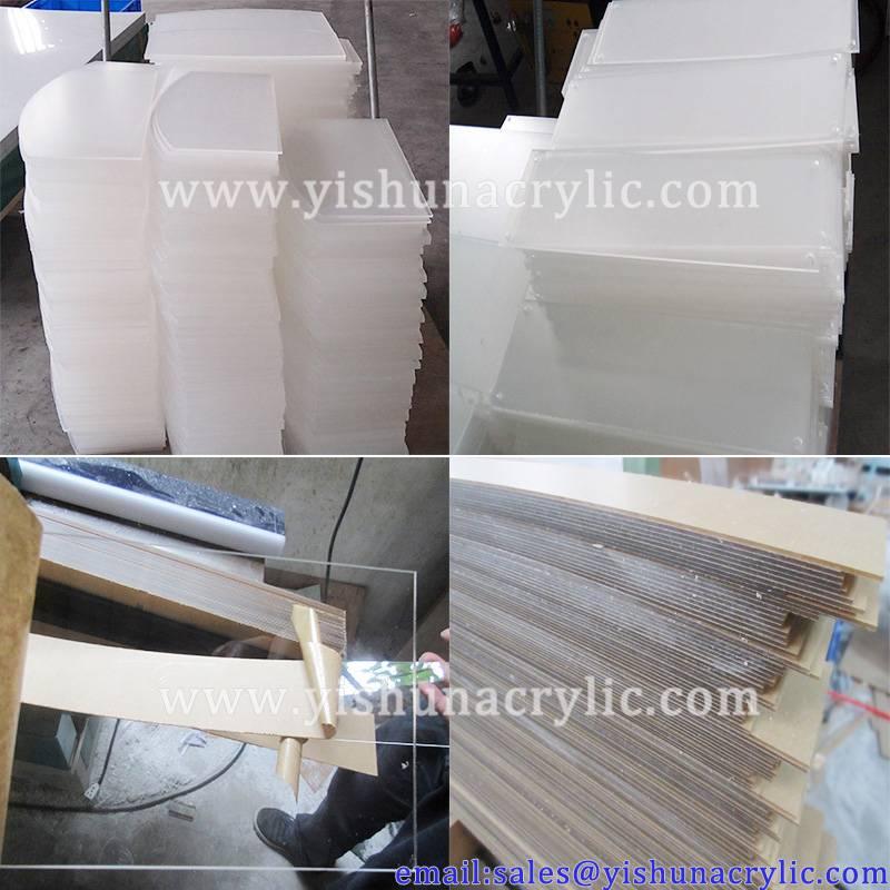 Custom made pmma plate transparent Acrylic sheet