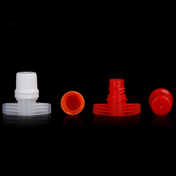 9.6MM High quality top selling jelly pouch plastic pour spout cap