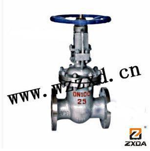 Z41Y-16I, Z40Y-16I Cr Mo steel flanged gate valve