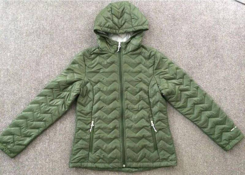 FREE COUNTRY brand inventory, 33,000pcs Ladies padding jacket with hoodie TC1-694
