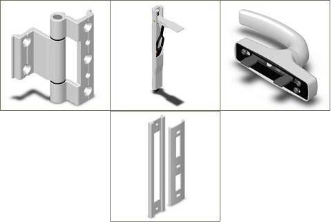 ALUMINIUM AND PVC ACCESSORIES FOR WINDOWS AND DOORS