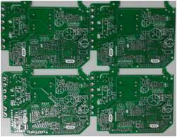 FR-4 Double-Sided Ammeter Power Supply Board PCB