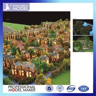 Refined prefabricated villa house model