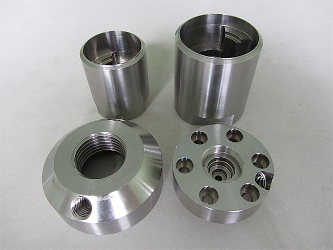 Custom Aluminum CNC Machining Parts