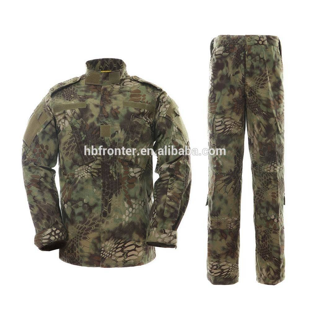 Paintball and airsoft - mountain python camo acu uniform
