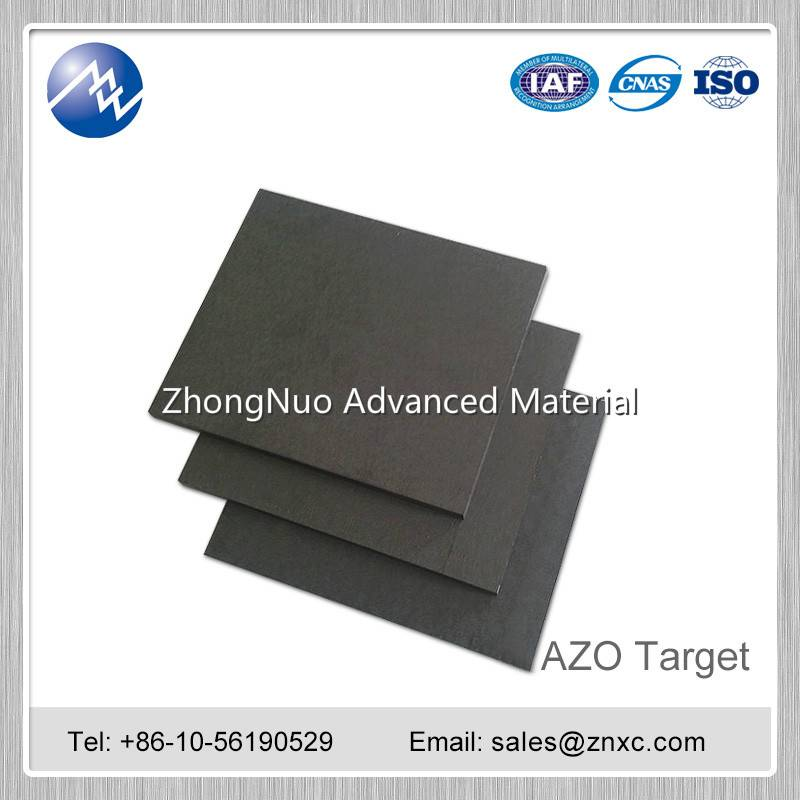 Factory price high purity 99.99% 97:3 AZO target