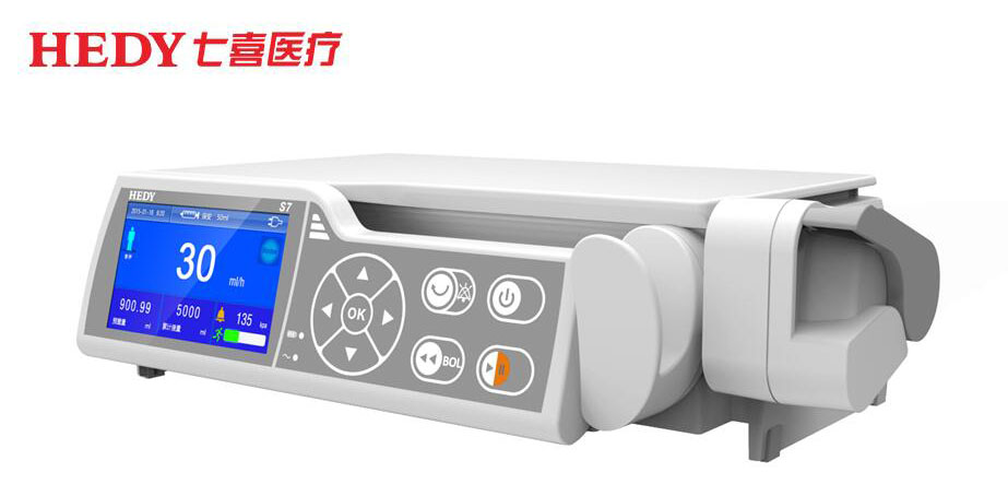HEDY Stackable Accuracy Syringe Pump Manufacturer With CE For Hospital