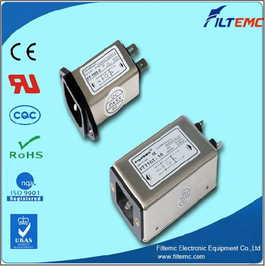 IEC socket filters/EMI filter