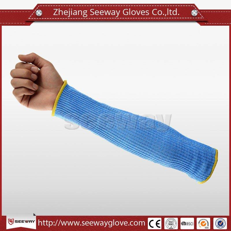 SeeWay F517 Cut Resistant Arm Sleeve in Blue Color for Working