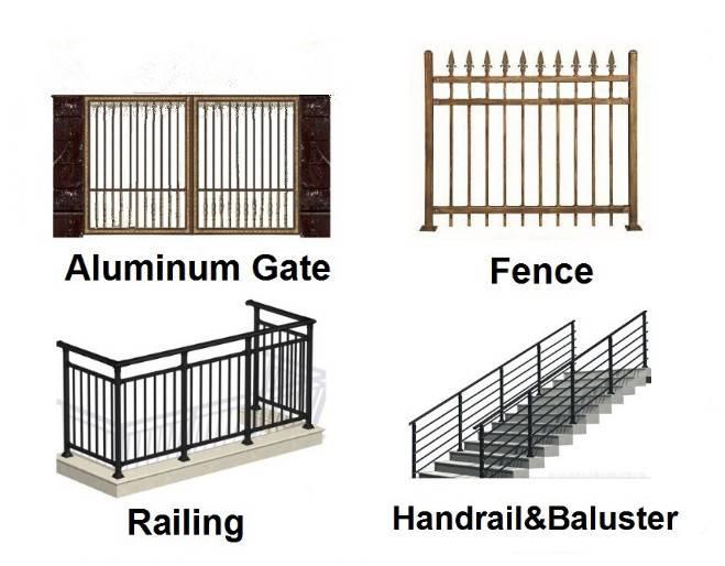 New Design Cheap   professional manufacturer of  Aluminum Fence Panels