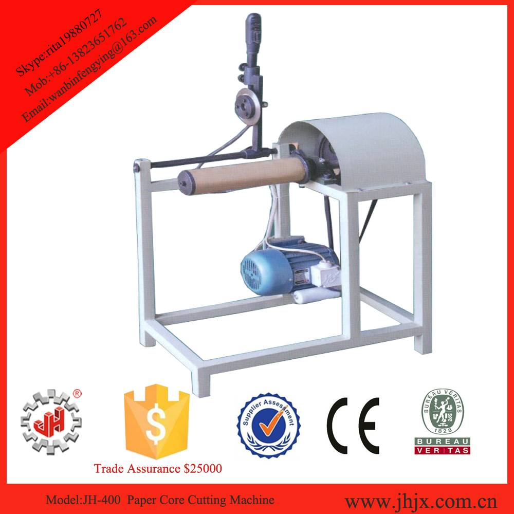 JH-400 Manual Paper Core Cutting Machine