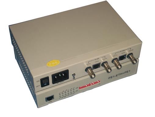 2 E1 Timeslot ADD/DROP to Ethernet converter