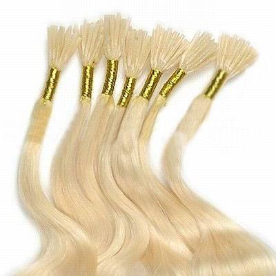 dropship 100% Brazilian human hair pre boned keratin hair extensions