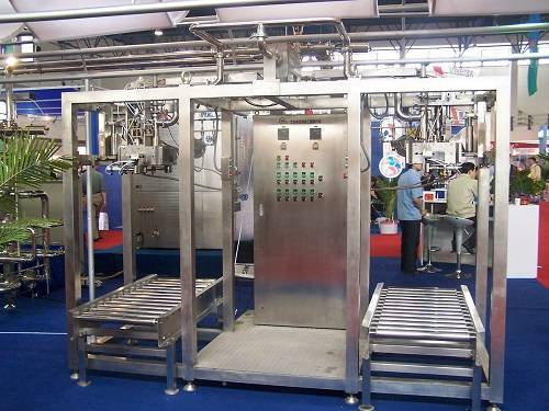 Aseptic Bag Filling Machine 2 heads