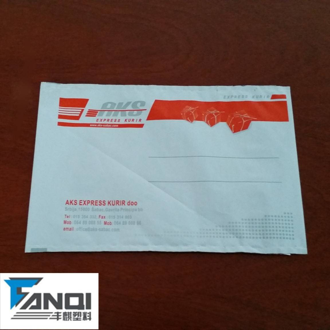 Documents shipping envelope reclosable bags