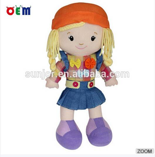 Plush Dolls for little girls Various Fabric Types are Min. Order: