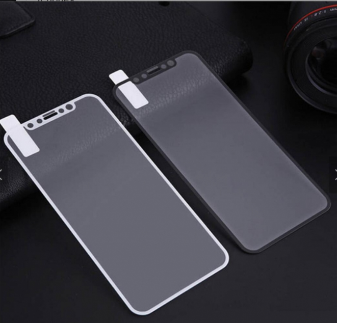 For iPhone X 5D tempered glass full screen protector High quality-DSDIA