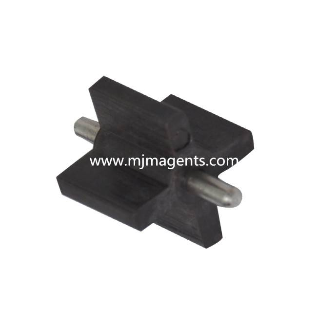 plastic injection molded ferrite magnet for sensor