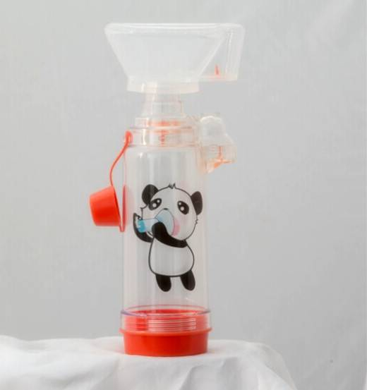 Anti-Static Valved Holding Chamber(panda spacer with infant mask)