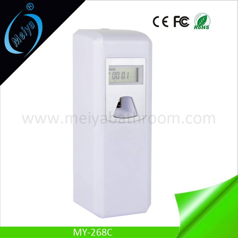 LCD aerosol perfume dispenser, digital air freshener dispenser