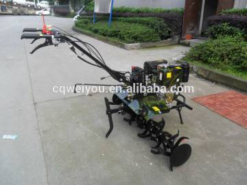 7hp hasoline rotary hand tiller walking tractor mini cultivator